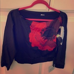 Women's athleisure floral top